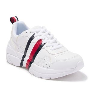 Tommy White Trainer Sneakers